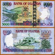 Ouganda UGANDA Billet 5000 Shillings 2005 P44 NEUF UNC