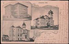 EUGENE OR Central Patterson & Divinity Schools Vtg B&W