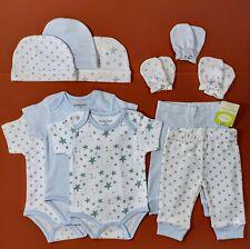 Set 11 Tgl Baby Body Kratzer Mütze Hose Gr 50/56/62, 0-3 Monate, Erstausstattung