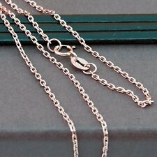 Genuine 18CT Solid Rose Gold Carter Chain 45cm Italy Made