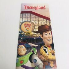 Disneyland Resort Vacation Travel Planning Booklet Pixar Toy Story Cover