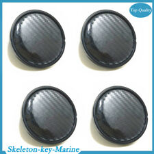 4PCS 60mm/58mm Carbon Fiber Surface Car SUV Wheel Center Hub Caps Cover Amazing