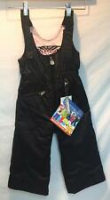 Obermeyer Kids Girls Snoverall Preschool Insulated Snow Ski Pant Black 3 NEW