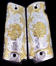 1911 ESCUDO MEXICANO MEXICO AGUILA EAGLE GUN GRIPS FITS COLT 38 45 TAURUS