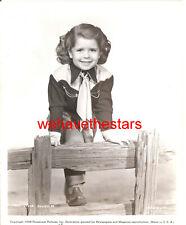 Vintage Mary Jane Saunders CHILD STAR '48 Publicity Portrait