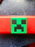 2 (a pair) KIDS  KNOBS Children Drawer Pull Minecraft Creeper 3d printed in UK