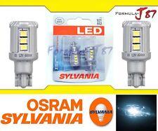 Sylvania Premium LED light Two Bulbs 921 T16 White 6000K Reverse Back Up Replace