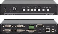kramer Vs-41 HDCP 4x1 Premium DVI Switcher Videoumschalter