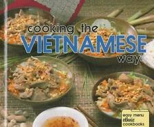 Cooking the Vietnamese Way (Easy Menu Ethnic Cookbooks)-ExLibrary
