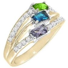 0a8c111a2 Three-Stone Fashion Rings for sale | eBay