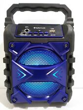 Portable Wireless Bluetooth BT Extra Bass 500W FM Radio Speaker - Jet4 Blue