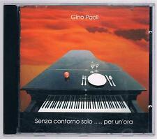 GINO PAOLI SENZA CONTORNO ... PER UN'ORA CD F.C.