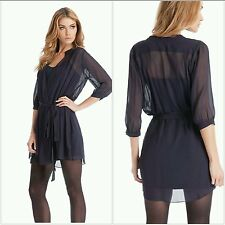 NWT GUESS by Marciano Brenna Solid Wrap Dress size XS