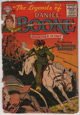 Dick Giordano Pedigree Collection Personal Copy Legends of Daniel Boone #3 1956