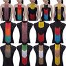 Fashion Women Seed Beads Choker Long Pendant Chain Tassels Bib Necklace Jewelry