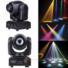 10W RGBW LED Laser Moving Head Light DMX-512 DJ Club Disco Bar Stage Party Lamp