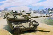 Meng TS-040  1/35 Israel Main Battle Tank Magach 6B Gal Batash