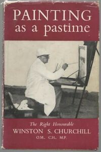 Churchill  Painting as a Pastime  Odhams 1948 first with d/w.