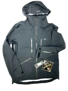 Oakley Goretex Mens Ski Snowboard Jacket Large Black New With Tags. Was $590!