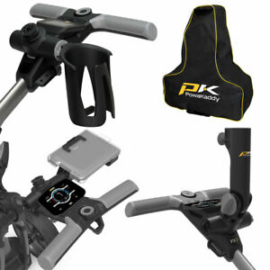 PowaKaddy Golf Trolley Universal Accessories - Fits All FX & CT Range - NEW 2021