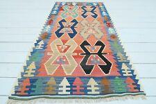 "Small Turkish Kayseri Kilim, Doormat Bathmat Small Area Rug Carpet Tapis 34""x63"""