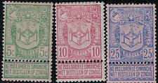 Belgium SC76-78 ArmsOfAntwerp (H)(Mint)1894