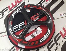 Fast Forward FFWD Three TT/TRI 3 Spoke Tubular Carbon Front Wheel