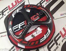 Fast Forward FFWD Three TT/TRI 3 Spoke Tubular Carbon Front Wheel