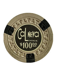 CAL NEVA LODGE $100 Casino Chip | Lake Tahoe, Nevada