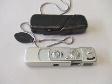 MINOX B SUBMINIATURE CHROME CAMERA  + CASE & CHAIN