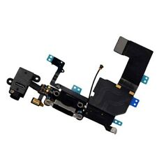 Black Charging Block Port Dock Assembly Flex Cable Mic For iPhone 5C A1532 A1507
