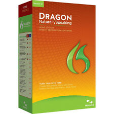 Nuance Dragon Naturally Speaking 12 Home Edition Computer Software