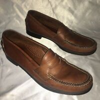 Ll Bean Leather Penny Loafers Men's Size 10.5 D