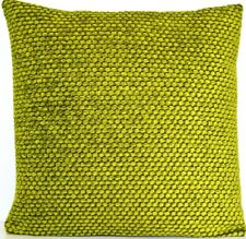 Green Cushion Cover Designers Guild Throw Pillow Case Chenille Fabric Brescia