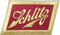 Patch Sew Iron on Embroidered Applique for Joseph Schlitz Beer Advertising Badge