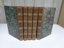 Oeuvres choisies de CORNEILLE 5 tomes 1829 Reliure 1/2 veau glacé