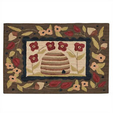 Bee Skep Hand-Hooked Rug by Park Designs