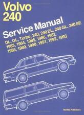 Volvo 240 Service Manual 1983 -1993 Repair by Bentley