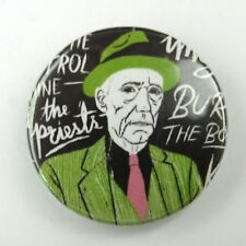 Wiliam Buroughs - Naked Lunch - Button Badge - 25mm 1 inch