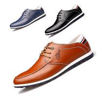 chaussures mocassin casual  hommes avec lacets en cuir verni