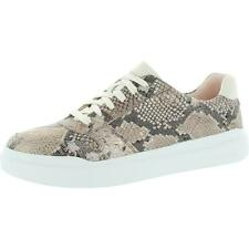 Cole Haan Grandpro Rally Court Womens Leather Snake Print Low Top Sneakers