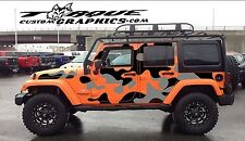 Urban Camo-4 Door-Vinyl Decal Set for Jeep Wrangler  , Vehicles, Custom Graphics