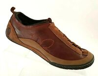 Merrell Womens Bella Brown Ortholite Shoes Sz 8 M Brown Leather Lace Up Walking