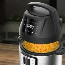 Moosoo 6 Qt Air Fryer Lid for Instant Pot with 7 Optional Presets F Instant Pot
