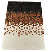 KUHFELL TEPPICH PATCHWORK 200 x 150 cm COWHIDE RUG