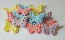 x16 Felt Butterfly Embellishments. Die cuts