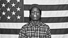 A3 Size - ASAP ROCKY American Hip Hop ARTIST GIFT / WALL DECOR ART PRINT POSTER