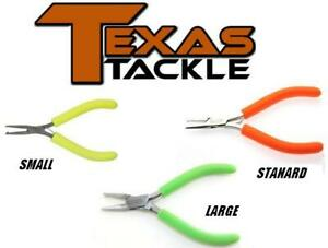 Texas Tackle Split Ring Pliers (SSplit-Ring Pryers) Various Sizes (SR)