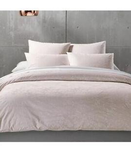 Calvin Klein Pink Roses King Duvet Cover+ Two King Shams. Brand New!