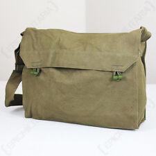 Original Czech Gas Mask Sidepack - Surplus - Olive Canvas Shoulder Bag